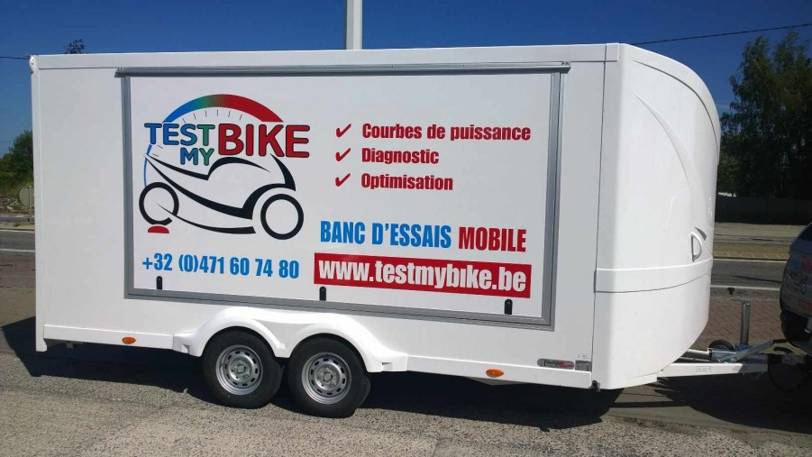 Test My Bike Banc Dessais Mobile Pour Motos